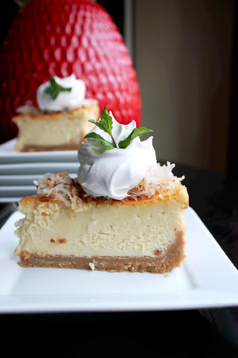 Coconut Cream Pie Cheesecake-Creole Contessa
