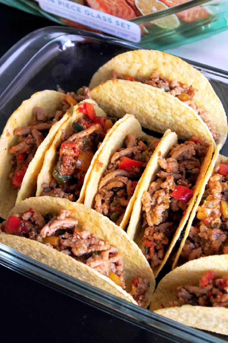 Baked Fajita Tacos 060edi