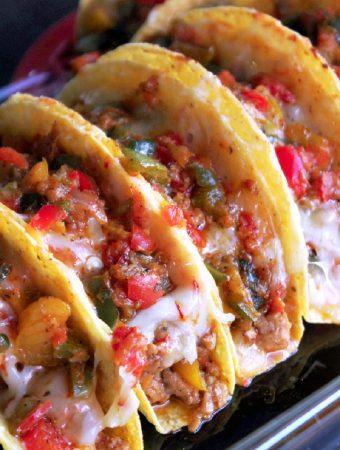 Baked Fajita Tacos