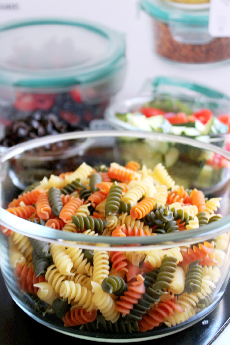 Greek Pasta Salad -Creole Contessa