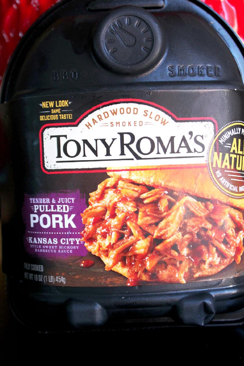 Pulled Pork Stuffed Potatoes with Tony Roma's -Creole Contessa