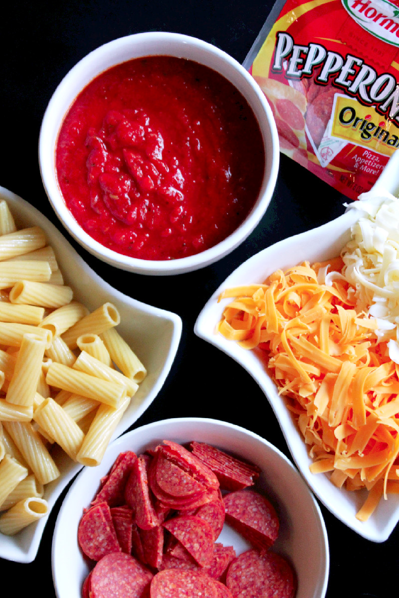 Pepperoni Madness with HORMEL® Cheesy Baked Pepperoni Pasta -Creole Contessa