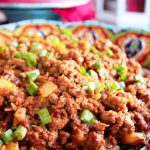 Picadillo with Papas (Potatoes)