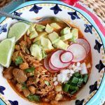 Slow Cooker Chicken Pozole
