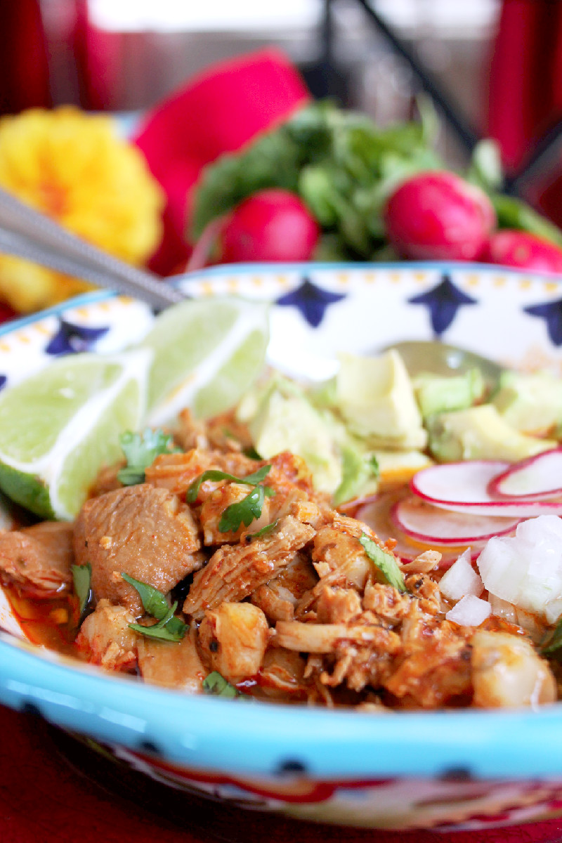 Slow Cooker Chicken Pozole-Creole Contessa