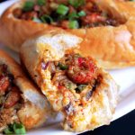 Crawfish Cheese Bread