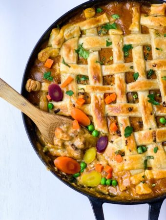 Chicken and Andouille Sausage Pot Pie