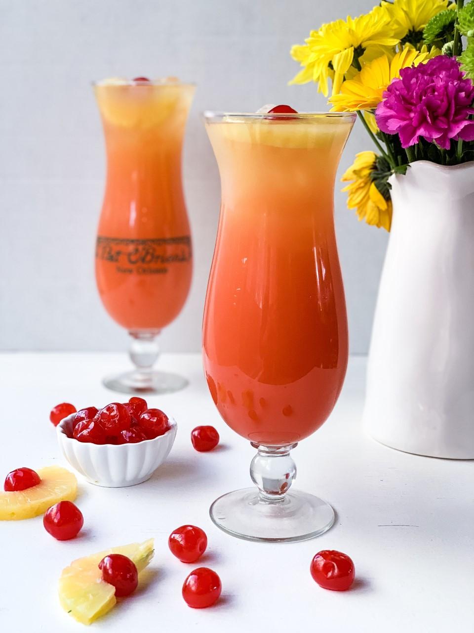 Hurricane Mocktail Creole Contessa