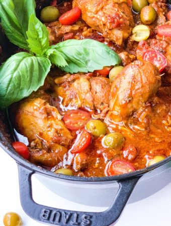 Smothered Italian Chicken
