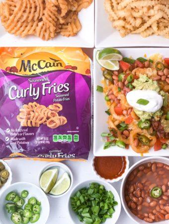 Nacho Fry Bar with McCain Foods