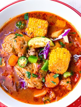 Caldo de Pollo {Mexican Chicken Soup}