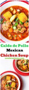 Caldo de Pollo {Mexican Chicken Soup}